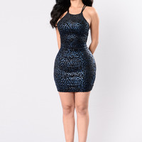 Solitaire Dress - Midnight