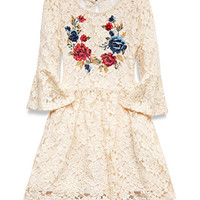 Floral Lace Tunic (Kids)