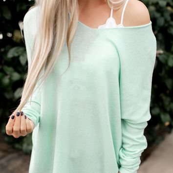 Another Day Sweater (Mint)