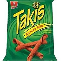Barcel Takis Crunchy Fajita 4 Oz Pack of 16
