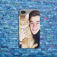 Connor Franta Cute Cat Funny Cell Phone Case Cover iPhone iPod Fun