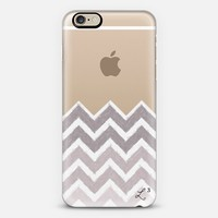 Chevron Canvas Gray iPhone 6 case by Love Lunch Liftoff | Casetify