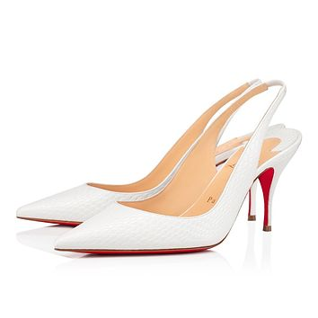 Christian Louboutin 2021 New pointed high heels  80 mm