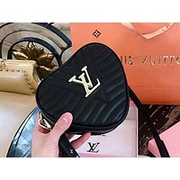 Lv Louis Vuitton Couple Love Pockets Shoulder Bag Messenger Bag