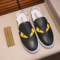 Fendi Fashion Casual Flats Shoes