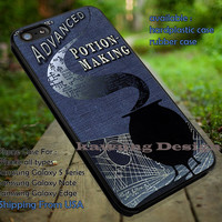 Harry Potter Advance Potion Making Book iPhone 6s 6 6s+ 5c 5s Cases Samsung Galaxy s5 s6 Edge+ NOTE 5 4 3 #movie #HarryPotter dt
