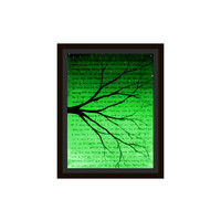 Green Artwork - Love Prints Romantic Artwork Love Gifts for Him - Tree Wall Art - Gifts for Boyfriend Gifts for Husband Anniversary Gifts