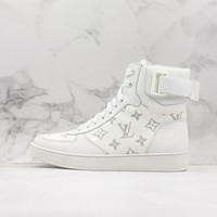 Louis Vuitton Lv Rivoli Sneaker Boot White - Best Online Sale