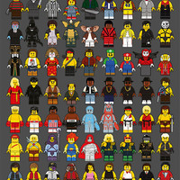 """""""LEGO Memories Compilation"""" Artist Proof Large by Dan Shearn"""