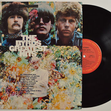 """THE BYRDS - """"Greatest Hits"""" vinyl record"""