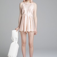 On The Contrary Playsuit Blush - alice McCALL