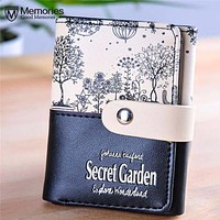2017 Clutches Wallets for Women Leather Coin Purse Female Short Purse Wallet Candy Colors Best Gift Women's Money Bags Pocket #Y