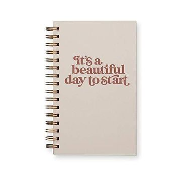 A Beautiful Day to Start Weekly Planner Notebook