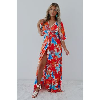 Headed To Paradise Maxi: Multi