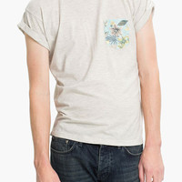 Topman 'High Roller' Floral Pocket T-Shirt | Nordstrom
