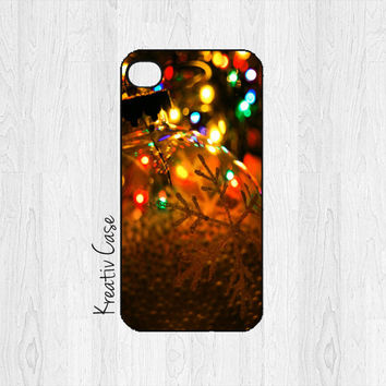 Christmas iPhone 4 case, iPhone 4S case, Christmas Ornament, Phone Cases, Holiday, Merry Christmas, - X011