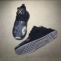 Best Online Sale Kaws x Adidas Consortium NMD XR1 Interstellar Black Grey BY9948 Boost