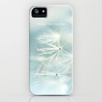 Stronger than yesterday iPhone Case by M✿nika  Strigel | Society6