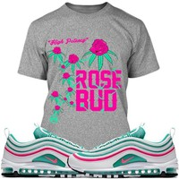 Air Max 97 South Beach Sneaker Tees Shirts - ROSE BUD