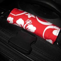 HAWAIIAN Luggage Wrap - Hibiscus Handle ID TAG. Other colors | Nancym4 - Accessories on ArtFire