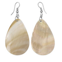 Pear Shape Shell Fashion Earrings
