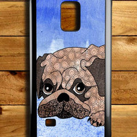 Painting Pug Samsung Galaxy Note 4 Case