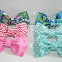 Clip on Hair Bows  - Any 2 bows of your choice