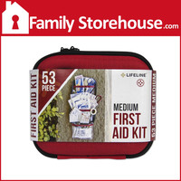 Medium Hard-Shell First Aid Kit - 53 Pieces