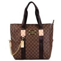 Louis Vuitton LV Women Fashion Leather Tote Satchel Handbag Shoulder Bag-9