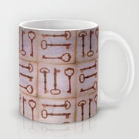 keys to secret doors Mug by Marianna Tankelevich