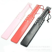 Hot Deal On Sale Hot Sale Leather Black Red Pink Sex Toy [6628168515]