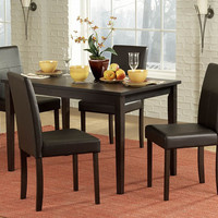 Dover 5 Pc Dinning Table With Chairs