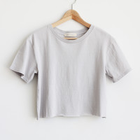 Quinn Crop Tee - More Colors