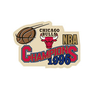 Logo Patch - Chicago Bulls 1996 Champions