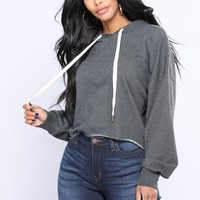 Almost Everyday Hoodie - Charcoal