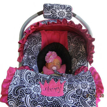 Baby Car Seat Cover Girl Car Seat Cover From Isewjo On Etsy