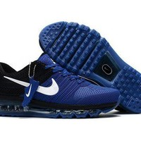 Tagre™ Copy of New Nike Air Max Treasure blue black Train Running Shoes -2017 Release