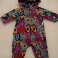sample sale mjcreation footed pajamas costume hippo for babies size 18 months