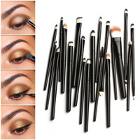 SIMPLE - Professional 20pcs Cosmetic Eye Makeup Brushes Set a12707