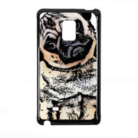 pugs alot dog for Samsung Galaxy Note Edge Case *01*