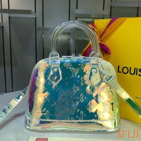 HCXX 19Aug 571 Louis Vuitton LV M53152 Tote Alma BB Print Colorful Hobe Fashion Soft Clutch Bag 25-19-12CM