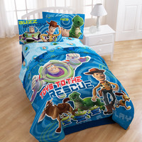 """Toy Story 3 """"Circles"""" Soft Cotton Comforter Only with Tote Bag - Full"""
