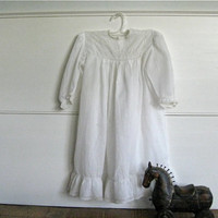 Antique Child's Dress - Perfect for a Very First Tea Party at Pooh Corner