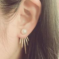 Women's pearl Stud Earrings a13440