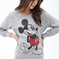 Marled Mickey Mouse Sweater