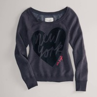 AE Embellished NYC Popover   American Eagle Outfitters