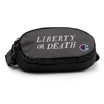 Liberty or Death Champion fanny pack