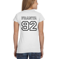 Connor Franta O2L Our 2nd Life Second Ladies Softstyle Junior Fit Tee Cotton Jersey Knit Gift Shirt
