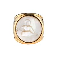 ASHA Zodiac Mother-of-Pearl Ring   Nordstrom