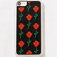 Zero Gravity Scarlet Rose Embroidered iPhone 8/7/6/6s Case   Urban Outfitters